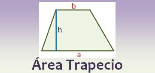 Área de un trapecio