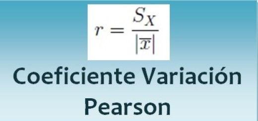 Coeficiente de variación de Pearson