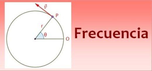 Frecuencia en el movimiento circular