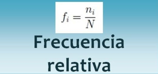 Frecuencia relativa