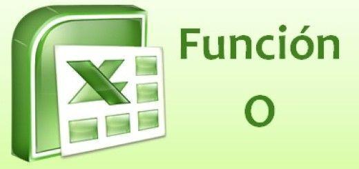 Función O del Excel