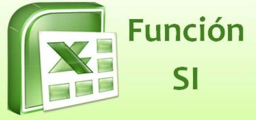 Función SI del Excel