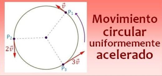Movimiento circular uniformemente acelerado