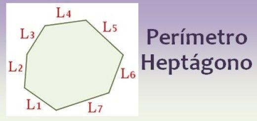 Perímetro del heptágono