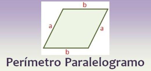Perímetro del paralelogramo