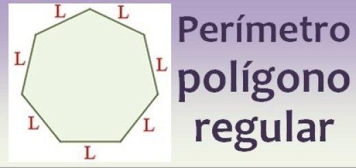 Perímetro del polígono regular