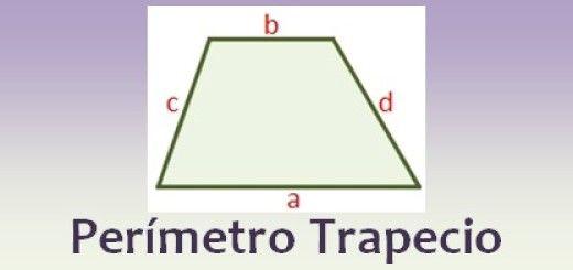 Perímetro de un trapecio