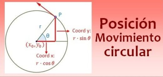 Posición en el movimiento circular