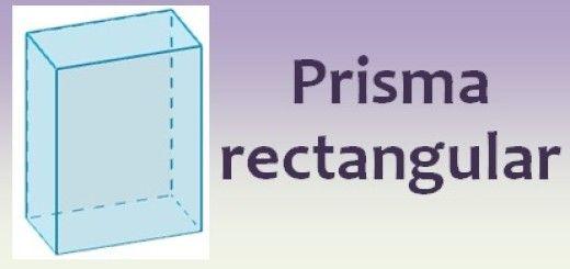Prisma rectangular (ortoedro)