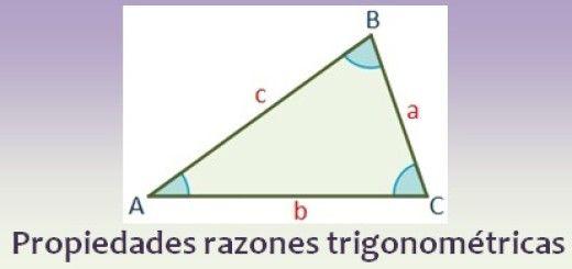 Propiedades de las razones trigonométricas