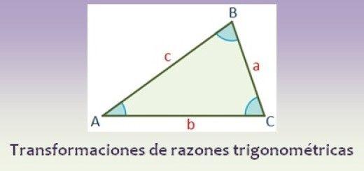 Transformaciones de razones trigonométricas