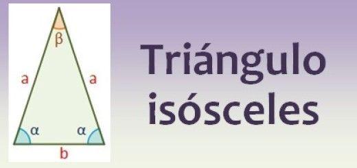 Resultado de imagen de triangulo isosceles