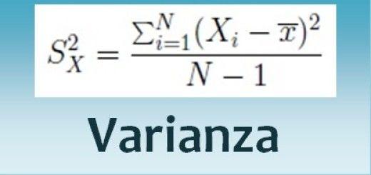 Varianza