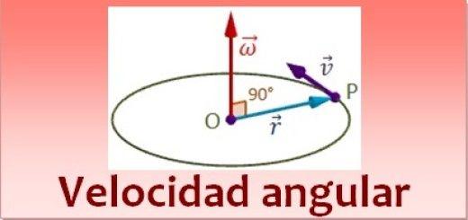 Velocidad angular