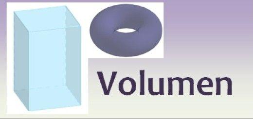 Dibujo del volumen