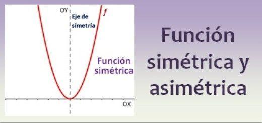 Funciones simétricas y asimétricas