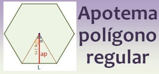 Apotema de un polígono regular
