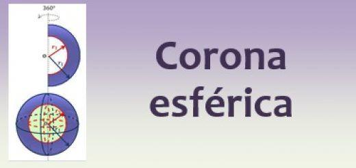 Corona esférica