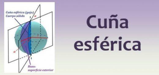 Cuña esférica