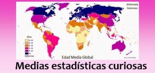 Medias estadísticas curiosas