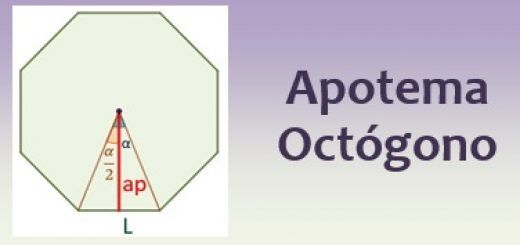 Apotema de un octógono