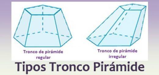Tipos de tronco de pirámide