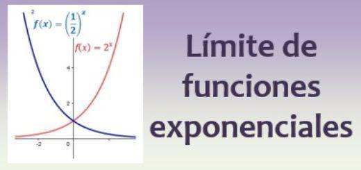 Limite de funciones exponenciales