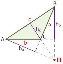 Ortocentro De Un Triángulo
