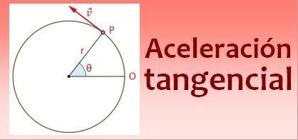 Aceleración tangencial
