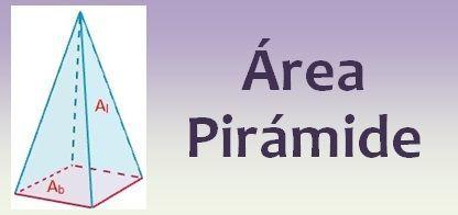 Área de la pirámide