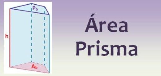 Área del prisma