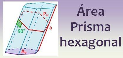 área De Un Prisma Hexagonal