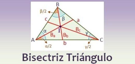 Bisectriz de un triángulo
