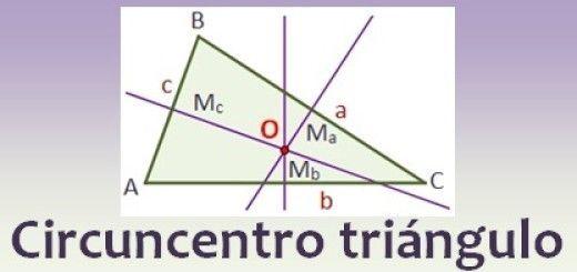 Circuncentro de un triángulo