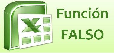 Función FALSO de Excel
