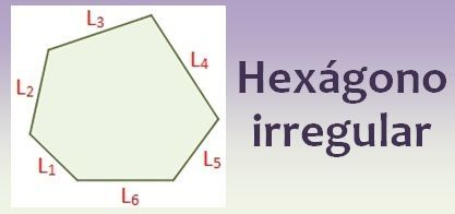 hexágono irregular