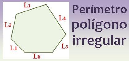 Perímetro del polígono irregular