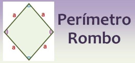 Perímetro del rombo