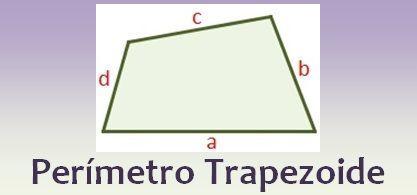 Perímetro del trapezoide