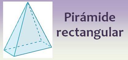 Pirámide rectangular
