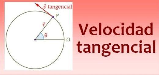 Velocidad tangencial