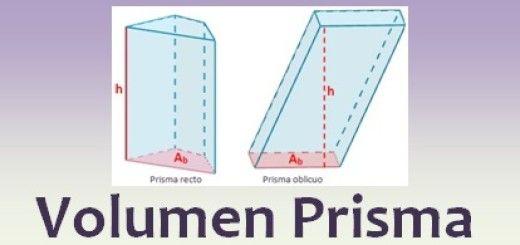 Volumen prisma