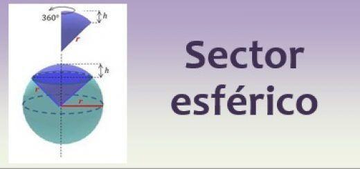 Sector esférico