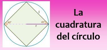 La cuadratura del círculo