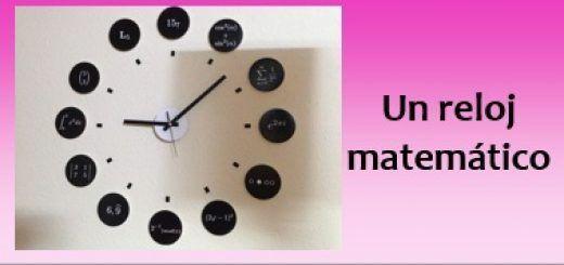 Un reloj matemático