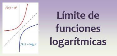 Límite de funciones logarítmicas