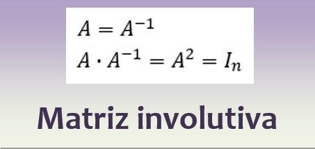 Matriz involutiva