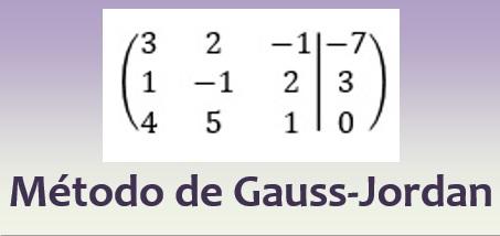 Método de Gauss-Jordann